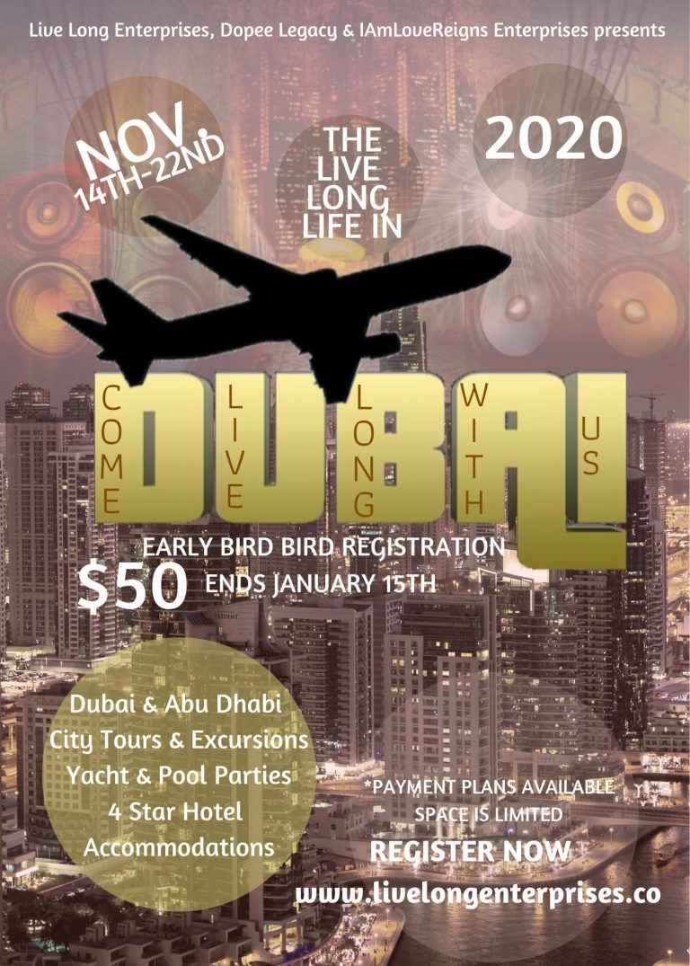 Live Long Enterprises Dubai 2020